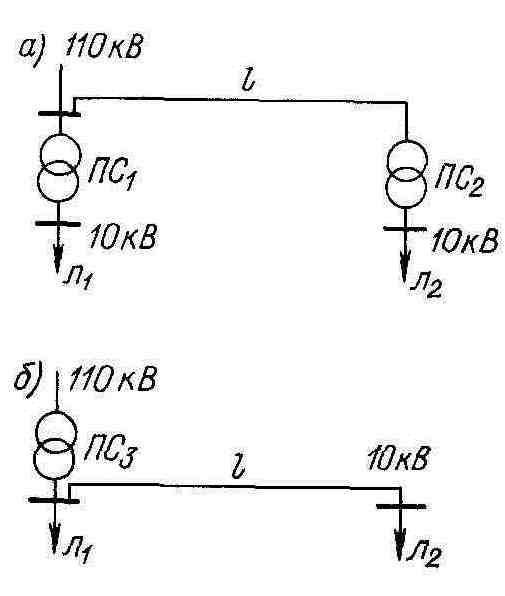 Схема электроснабжения.
